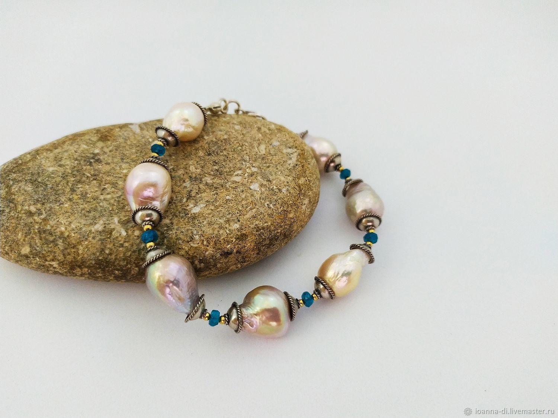 """""""Шум прибоя"""" браслет, серьги, 925 серебро, Jewelry Sets, Moscow,  Фото №1"""
