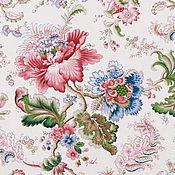 Материалы для творчества ручной работы. Ярмарка Мастеров - ручная работа Ткань для штор 280 см цветочная 100% хлопок Франция. Handmade.