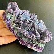 Фен-шуй и эзотерика handmade. Livemaster - original item Druse natural rainbow fluorite, 311 g. Inner Mongolia. Handmade.