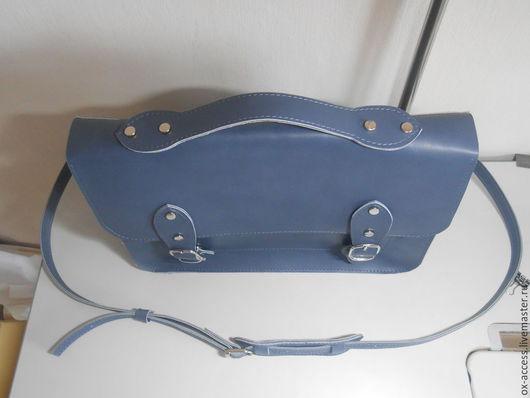 Женские сумки ручной работы. Ярмарка Мастеров - ручная работа. Купить портфель. Handmade. Разноцветный, натуральная кожа