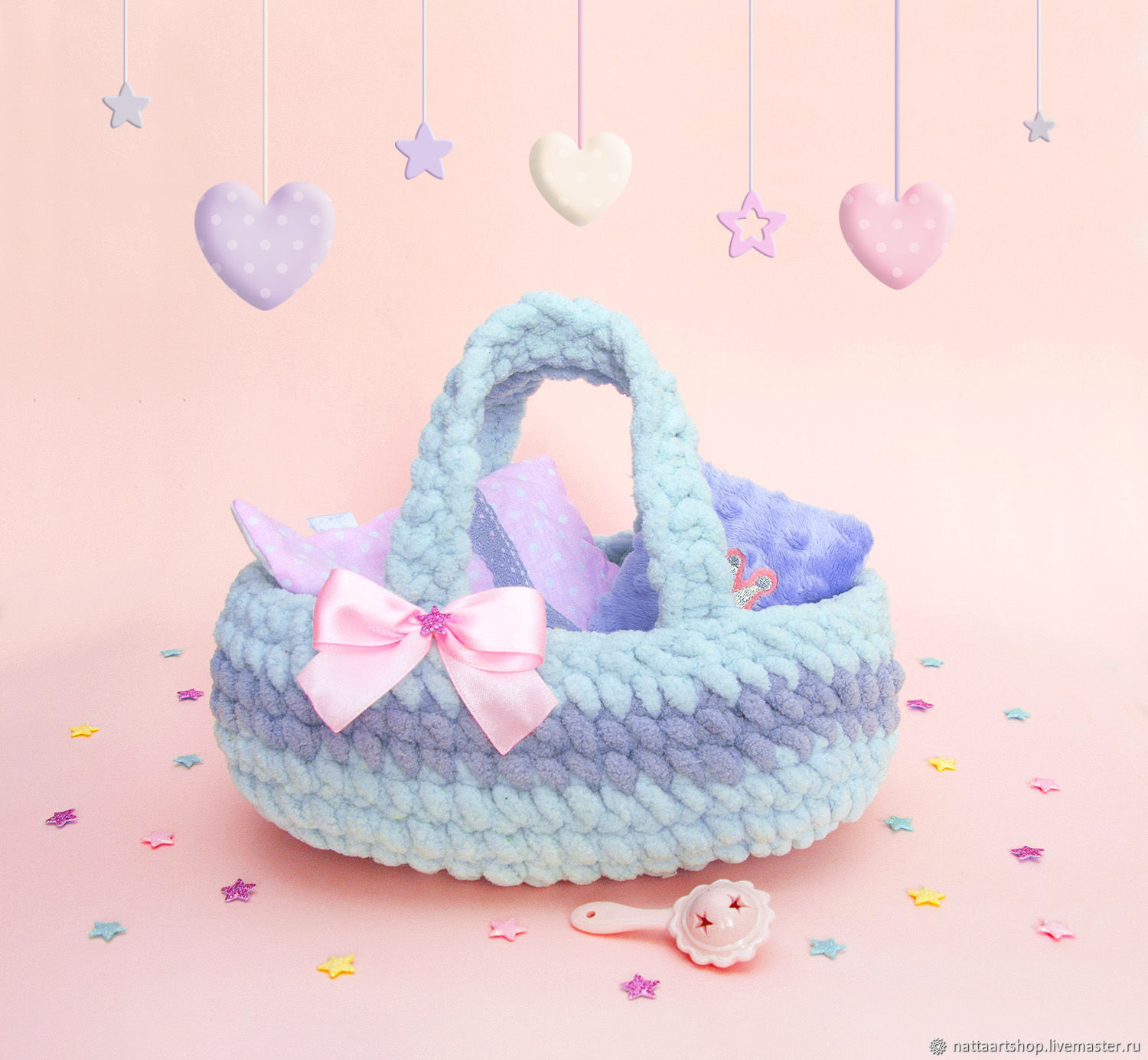 Knitted soft carrier for dolls, Doll houses, Moscow,  Фото №1