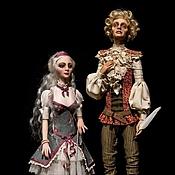 Куклы и игрушки ручной работы. Ярмарка Мастеров - ручная работа Поэт и его Муза.... Handmade.