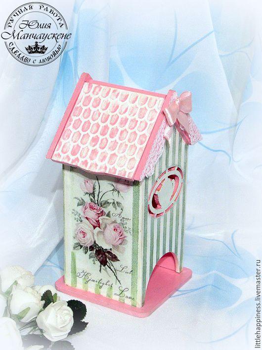 """Кухня ручной работы. Ярмарка Мастеров - ручная работа. Купить Чайный домик """" Чайная роза"""". Handmade. Розовый, кружево"""