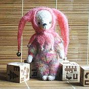 Куклы и игрушки ручной работы. Ярмарка Мастеров - ручная работа мишка Арлекинчик. Handmade.