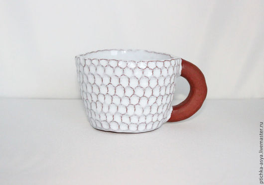 Кружки и чашки ручной работы. Ярмарка Мастеров - ручная работа. Купить Чашка. Handmade. Ручная лепка, шамотная глина