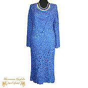 Одежда handmade. Livemaster - original item crochet dress Evening. Handmade.