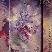 """Картины и панно ручной работы. Ярмарка Мастеров - ручная работа Картина-миниатюра """"Ночные фантазии"""". Handmade."""