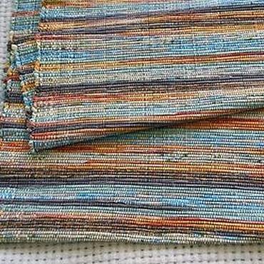 Для дома и интерьера ручной работы. Ярмарка Мастеров - ручная работа Половик ручного ткачества (№ 64). Handmade.