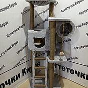 Когтеточки ручной работы. Ярмарка Мастеров - ручная работа Когтеточка с качелькой. Handmade.