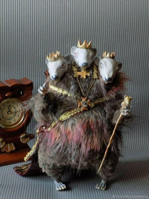 Мышиный Король, Король Мышей из сказки Щелкунчик, кукла, Мягкие игрушки, Алматы,  Фото №1