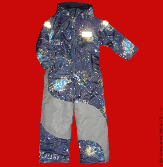 Одежда для мальчиков, ручной работы. Ярмарка Мастеров - ручная работа. Купить Мембранный комбинезон с подстежкой Урбан. Handmade. Слитник, осенний