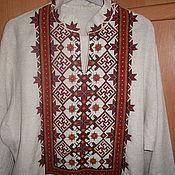 Русский стиль ручной работы. Ярмарка Мастеров - ручная работа Вышитый обрядовый костюм. Handmade.
