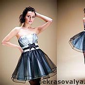 """Одежда ручной работы. Ярмарка Мастеров - ручная работа """"Лютик"""" платье коктейльное. Handmade."""