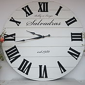 Для дома и интерьера handmade. Livemaster - original item Copy of Copy of Wall clock 100 cm. Handmade.