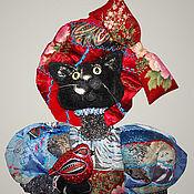 Куклы и игрушки ручной работы. Ярмарка Мастеров - ручная работа Кошка Мурчетта. Handmade.