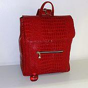 Сумки и аксессуары handmade. Livemaster - original item Backpack leather 99 to. Handmade.