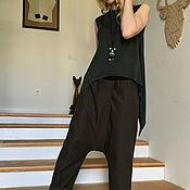 Одежда ручной работы. Ярмарка Мастеров - ручная работа Майка + штаны MILITARY. Handmade.