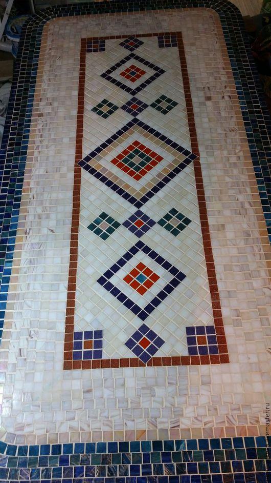 """Мебель ручной работы. Ярмарка Мастеров - ручная работа. Купить Мозаика, Стол обеденный """"Марокко"""". Handmade. Комбинированный, патио, столовая"""