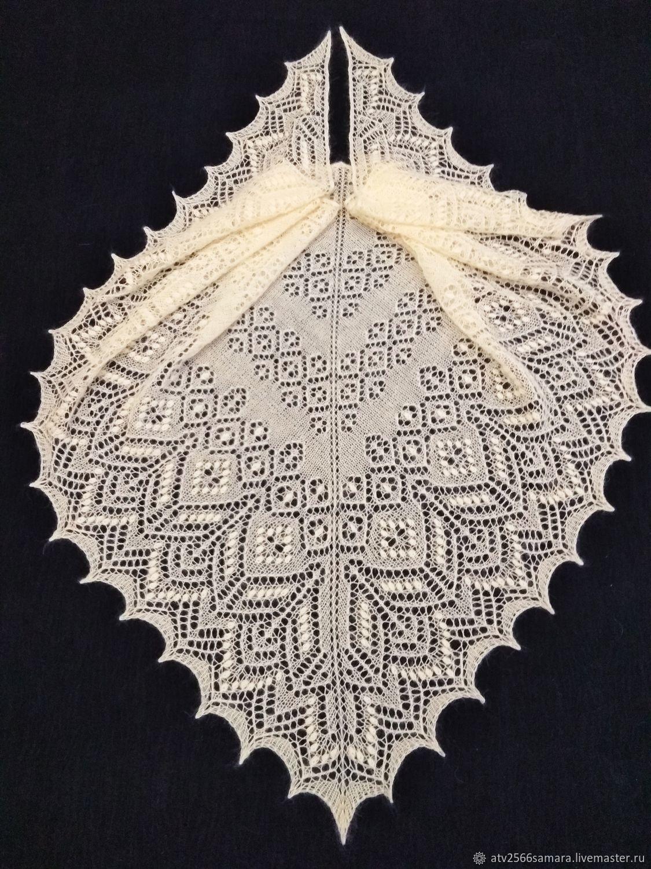 Шаль Цветы мелиссы, Шали, Самара,  Фото №1
