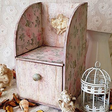 """Для дома и интерьера ручной работы. Ярмарка Мастеров - ручная работа """"Заброшенный сад"""" мини-комод. Handmade."""