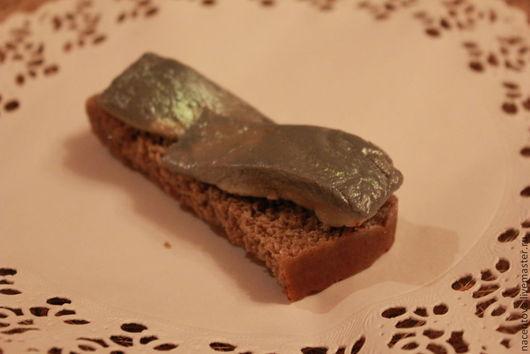 """Мыло ручной работы. Ярмарка Мастеров - ручная работа. Купить Мыло """"Бутерброд с селедкой"""". Handmade. Сельдь, мыльная основа"""