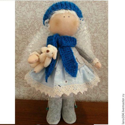 Коллекционные куклы ручной работы. Ярмарка Мастеров - ручная работа. Купить Авторская интерьерная Кукла ручной работы по мотивам куклы снежки.. Handmade.