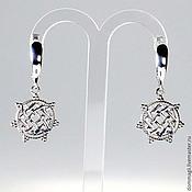 Фен-шуй и эзотерика handmade. Livemaster - original item Earrings Lada Star the small. Handmade.