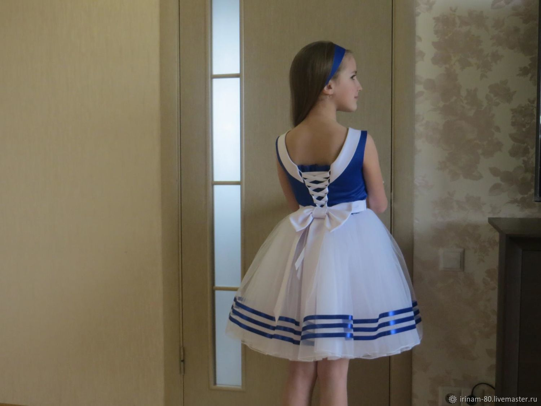 Нарядное, стильное платье для девочки