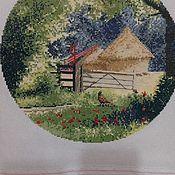Комплекты аксессуаров для дома ручной работы. Ярмарка Мастеров - ручная работа Английская деревня: Стог сена. Handmade.