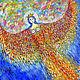 """Символизм ручной работы. Ярмарка Мастеров - ручная работа. Купить Райская птица """"Алконост"""". Handmade. Славянские мифа, картина в подарок"""