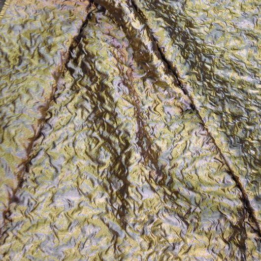 Шитье ручной работы. Ярмарка Мастеров - ручная работа. Купить итальянские ткани: Жаккард -органза фактурная. Handmade. Золотой