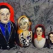 Народные сувениры ручной работы. Ярмарка Мастеров - ручная работа Портретные матрешки. Handmade.