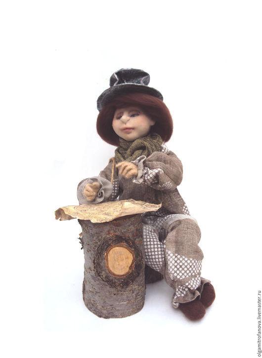 Коллекционные куклы ручной работы. Ярмарка Мастеров - ручная работа. Купить Авторская кукла. В поисках счастья  авторская кукла купить подарить. Handmade.