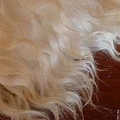 Материалы для творчества ручной работы. Ярмарка Мастеров - ручная работа Волосы натуральные для кукол. Handmade.