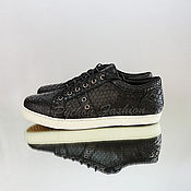 Обувь ручной работы handmade. Livemaster - original item Sneakers from Python SIRENA. Handmade.