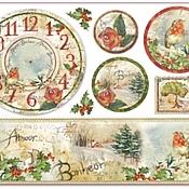 Бумага ручной работы. Ярмарка Мастеров - ручная работа Рисовая бумага Часы, цветы и поэзия. Handmade.