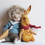 Куклы и игрушки ручной работы. Ярмарка Мастеров - ручная работа Плюшевый заяц или как игрушки становятся настоящими... Handmade.