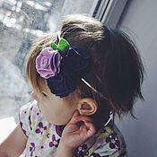 Аксессуары ручной работы. Ярмарка Мастеров - ручная работа Повязка на голову для девочек из фетра. Handmade.