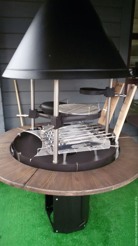Экстерьер и дача ручной работы. Ярмарка Мастеров - ручная работа. Купить Столешницы для мангалов. Handmade. Коричневый, садовая мебель, коттедж