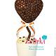 Топиарии ручной работы. Кофейное дерево кофейное сердце кофейный шар кофе в кружке. Ника Окунева 'ZEFIRKI'. Интернет-магазин Ярмарка Мастеров.