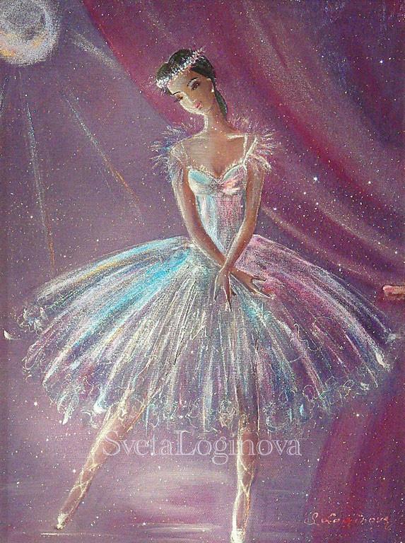Балерина, Картины, Находка,  Фото №1