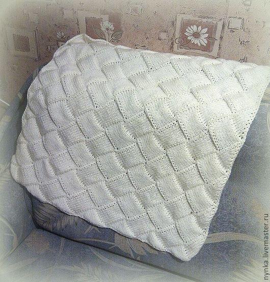 Пледы и одеяла ручной работы. Ярмарка Мастеров - ручная работа. Купить Плед детский Нежный. Handmade. Белый, плед в коляску