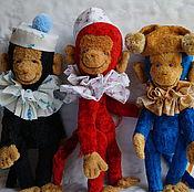 Куклы и игрушки ручной работы. Ярмарка Мастеров - ручная работа обезьянка игрушка Тим, Том и Тома. Handmade.