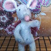 Мягкие игрушки ручной работы. Ярмарка Мастеров - ручная работа Крыс Иннокентий. Handmade.
