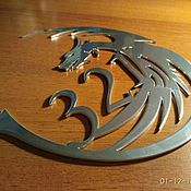 """Для дома и интерьера ручной работы. Ярмарка Мастеров - ручная работа Номер на входную дверь """"Dragon"""". Handmade."""