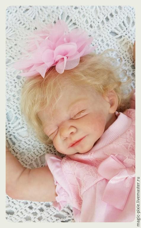 Куклы-младенцы и reborn ручной работы. Ярмарка Мастеров - ручная работа. Купить Mathilda. Handmade. Бежевый, куклы, винил-силикогн