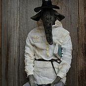 Куклы и игрушки handmade. Livemaster - original item Elephant Nikolaevich. Handmade.