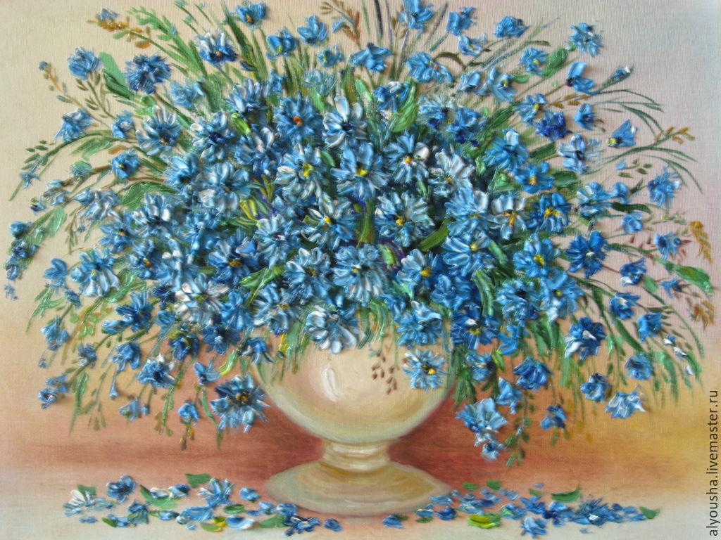 Купить васильки цветы в иваново