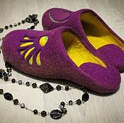 """Обувь ручной работы. Ярмарка Мастеров - ручная работа Тапочки"""" Вдохновение"""". Handmade."""