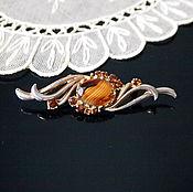 Vintage brooches handmade. Livemaster - original item Wave brooch, vintage. Handmade.